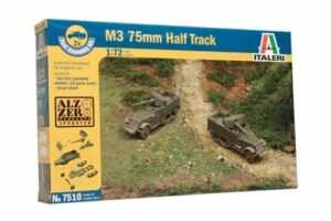 1:72 Italeri: M3 75mm Gun Motor Carriage (ITA7510)