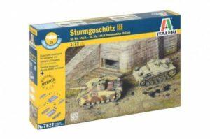 1:72 Italeri: STURMGESCHUTZ III SD.KFZ 142/1 (ITA7522)