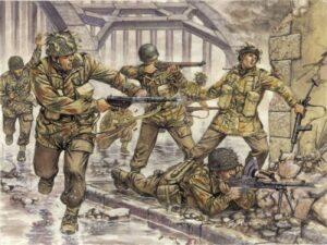1:72 Italeri: Paracaidistas Británicos (ITA6034)
