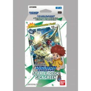 Digimon CG – Starter Deck Display Giga Green ST-4 (Ingles)