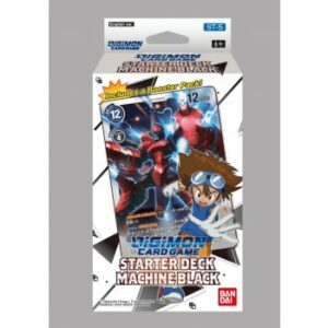 Digimon Card Game: Starter Deck Machine Black ST-5 (Ingles)