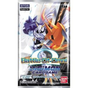 Digimon Card Game: Battle Of Omni Booster BT05 (Ingles)