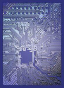 Legion: Fundas Circuit Blue