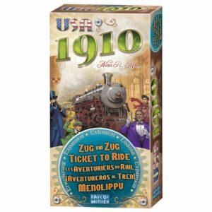 Aventureros Al Tren: Exp 1910 USA