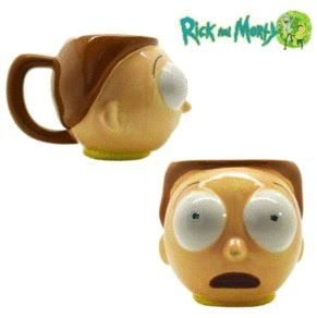Taza 3D Rick Y Morty