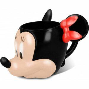 Taza 3D Minnie Mouse Disney Plástico