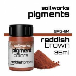 SOILWORKS: PIGMENTOS REDDISH BROWN SPG-04