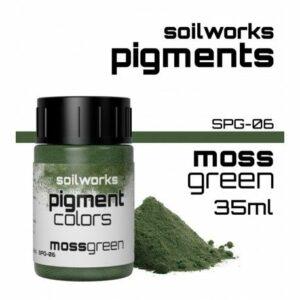 SOILWORKS: PIGMENTOS MOSS GREEN SPG-06