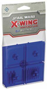 X-Wing: Set De Peanas Y Clavijas Azul