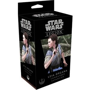 Star Wars Legion:  Leia Organa Commander (Ingles)