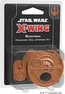 SW X-Wing Kit Diales De Maniobra (Resistencia) 3 Unidades