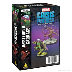 Marvel Crisis Protocol: Mysterio & Carnage (CP50)