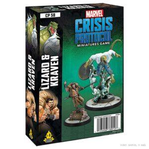 Preventa – Marvel Crisis Protocol: Lizard & Kraven (CP58)