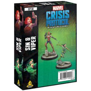 Marvel Crisis Protocol: Sin & Viper (CP61)