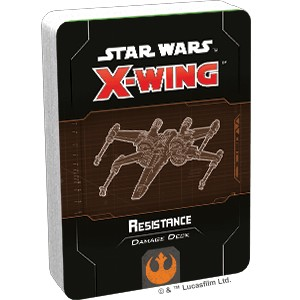 Star Wars X-Wing 2.0: Resistance Damage Deck (Ingles)