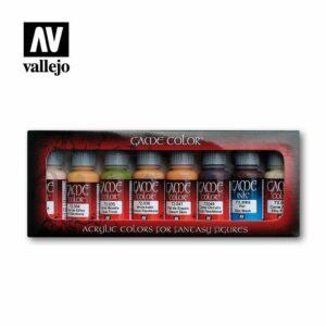 Vallejo Game Color: Tonos Piel (72295)