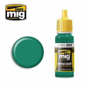 INTERIOR TURQUOISE GREEN (AMIG0223)