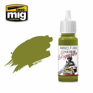 YELLOW GREEN FS-34259 (AMMOF504)