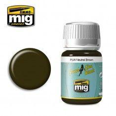 PLW NEUTRAL BROWN A.MIG-1614