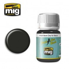 PLW STONE GREY FOR BLACK A.MIG-1615