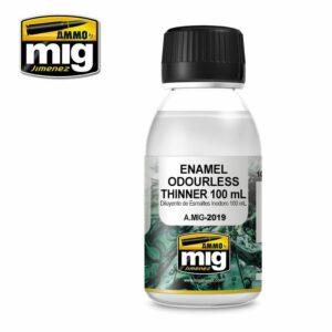 ENAMEL ODOURLESS THINNER 100 ML (AMIG2019)