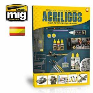 GUIA DE MODELISMO: COMO PINTAR CON ACRILICOS AMIG6041