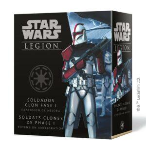 Star Wars Legion: Soldados Clon Fase I – Mejora