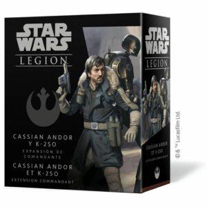 Star Wars Legion: Cassian Andor Y K-2S0