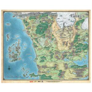 Dungeons & Dragon: Mapa De Faerûn