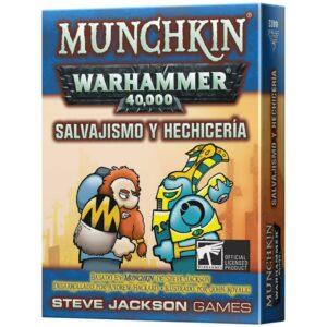 Munchkin Warhammer 40k: Salvajismo Y Hechiceria