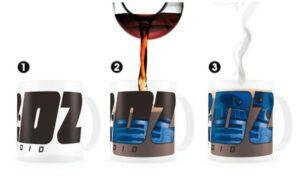 Star Wars: Taza Térmica R2-D2 Transparente (33cl)