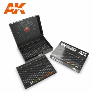 Weathering Pencils: Deluxe Edition Box (AK10047)