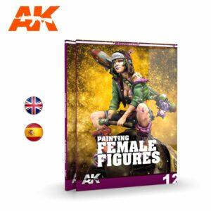 AK: Pintura De La Figura Femenina (AK521)