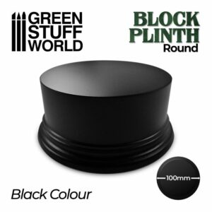 Pedestal Redondo 10cm – Negro
