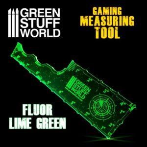 Medidor Gaming – Verde Lima Fluor