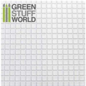 Plancha Plasticard CUADRADOS GRANDES – Tamaño A4