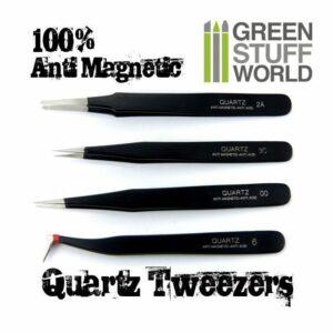 Pinzas Precisión QUARTZ 100% Anti-Magnéticas