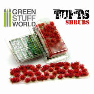 TUFTS Matorral – Flores ROJAS / Red Flowers Shrub TUFT