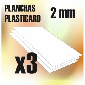 Plancha Plasticard 2 Mm – COMBOx3 Planchas