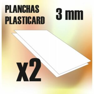 Plancha Plasticard 3 Mm – COMBOx2 Planchas