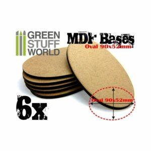 Peanas DM – Ovaladas AOS 90x52mm