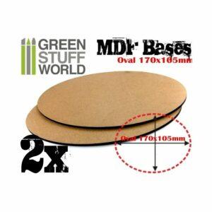 Peanas DM – Ovaladas 170x105mm