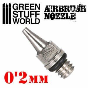 Obturador Aerografo 0.2mm