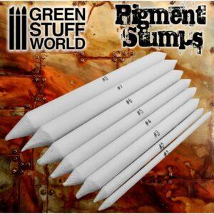 Set 8x Difuminos Para Pigmentos