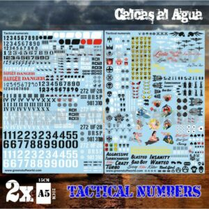 Calcas Al Agua – Numeros Tacticos Y Pinups