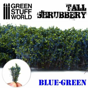 Arbustos Altos – Azul Verde