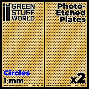 Placas Fotograbados – Circulos Grandes