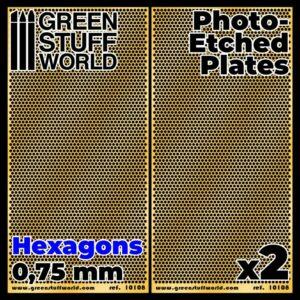 Placas Fotograbados – Hexagonos Medianos