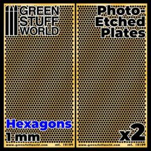 Placas Fotograbados – Hexagonos Grandes