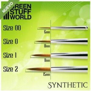 GREEN SERIES Pincel Sintetico – 0